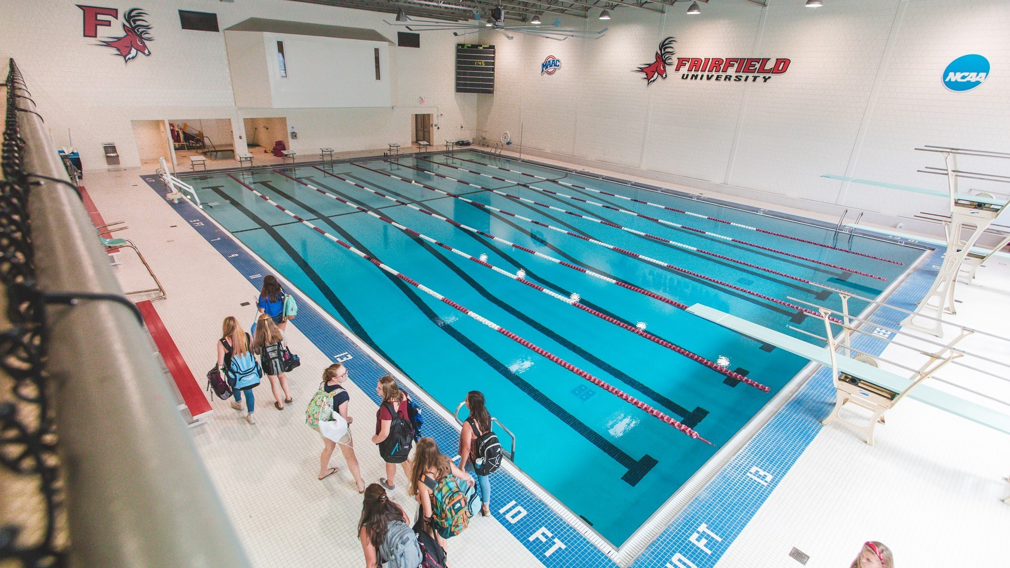 RecPlex Pool - Facilities - Fairfield University Athletics