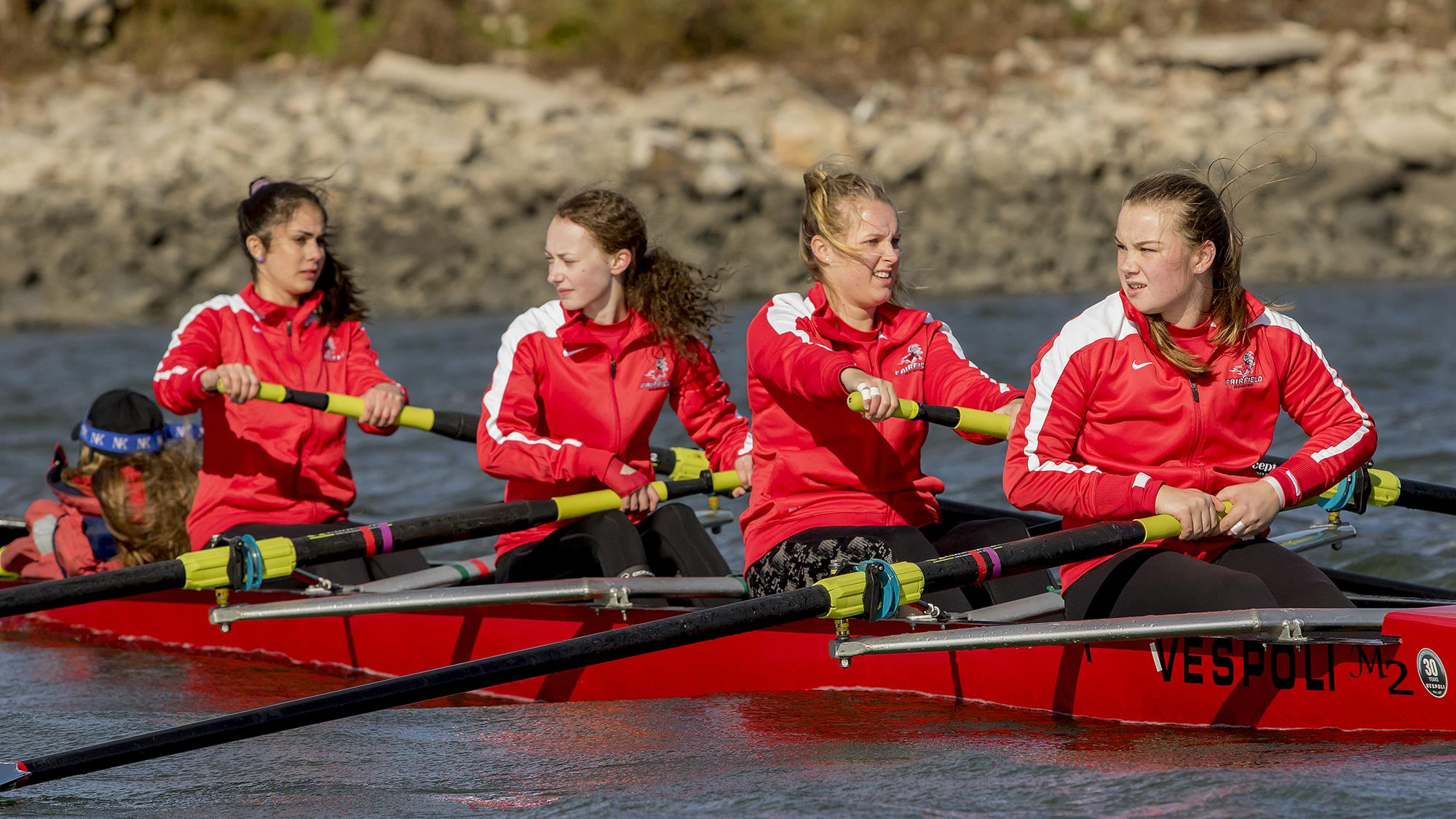 Women S Rowing Competes At Navy Day Regatta Fairfield University Athletics